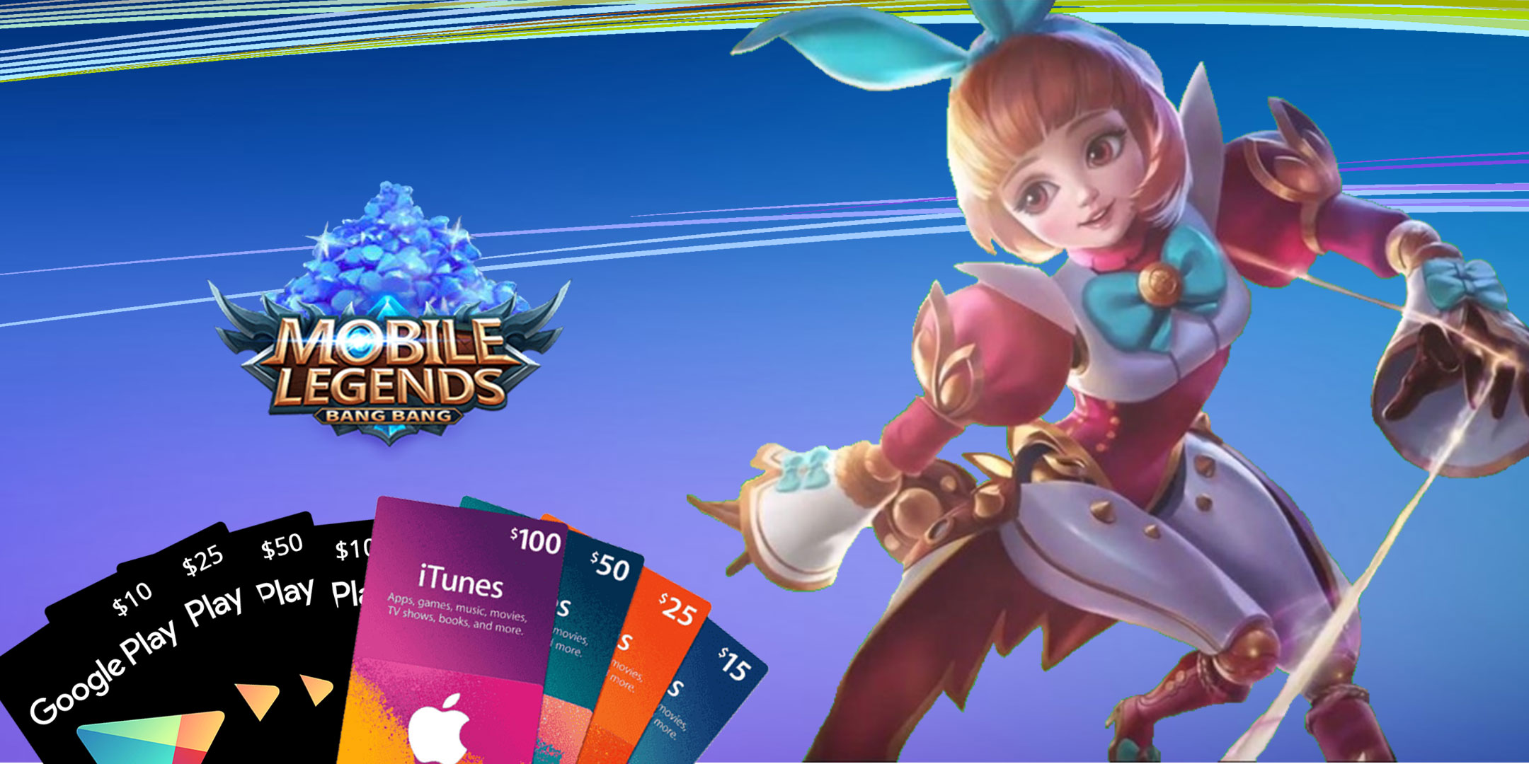 Top up Diamonds on Mobile Legend for Android & iOS in Brunei | Rapidbump
