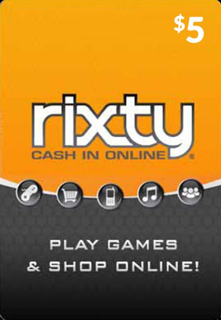 USD5 Rixty Code (Global)